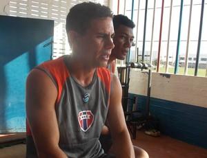 Volante Tica é um dos reforços do Maranhão (Foto: Bruno Alves/Globoesporte.com)