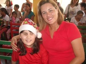259960340 campanha, internet, tratamento, jornalista, Aline Brito, filha, cega, Macapá
