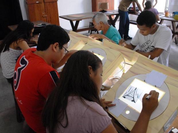 Começam inscrições para oficinas de setembro da Fundação Curro Velho (Foto: Eduardo Kalef / Curro Velho)