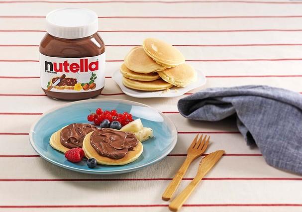 Panqueca + Nutella: segunda-feira feliz!  (Foto: Divulgação)