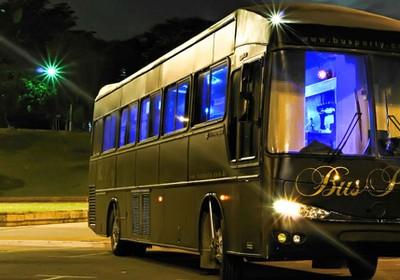 Unidade da rede Bus Party (Foto: Divulgação)