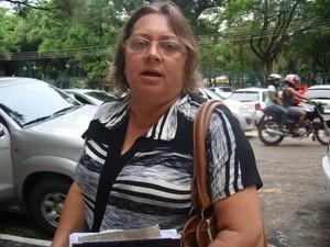 Presidente de associação de moradores questiona reforma do aeroporto em Teresina (Foto: Catarina Costa/G1)