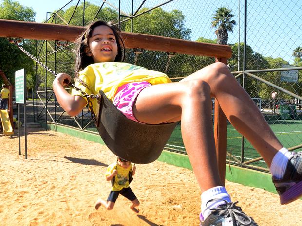 Colônias de férias trazem opções divertidas para as férias escolares em Goiânia, Goiás (Foto: Alex Malheiros/Sesi)
