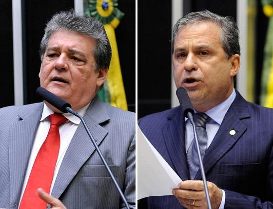 Silvio Costa e Tadeu Alencar (Foto: Reprodução)