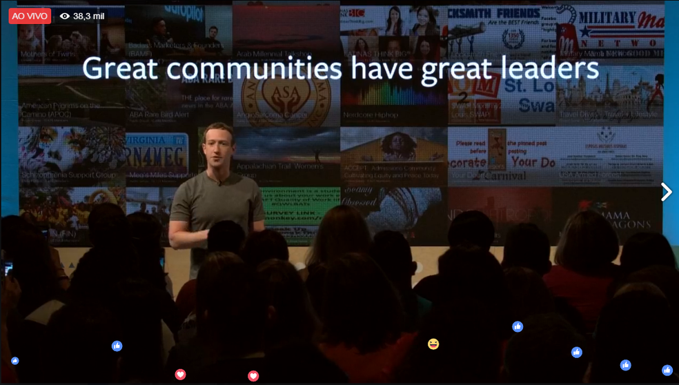 Líderes são importantes para nova fase dos grupos do Facebook  (Foto: Reprodução/Carolina Ochsendorf)