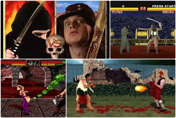 Precursor de uma geração, Mortal Kombat inspirou diversos jogos ruins (Foto: Montagem / Dario Coutinho)
