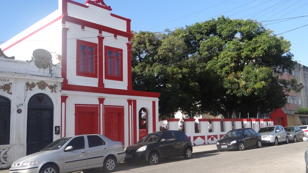 Nova sede administrativa do CRB (Foto: Paulo Victor Malta/Globoesporte.com)
