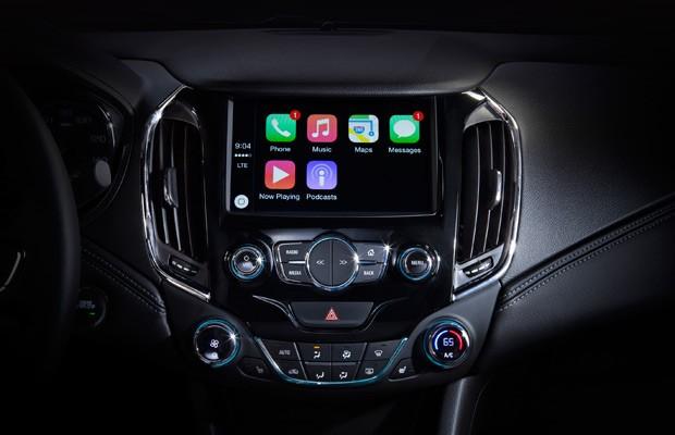 Novo Chevrolet Cruze será compatível com CarPlay e Android Auto (Foto: Divulgação)