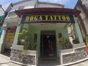 Estúdio de tatuagem Doga tattoo vai sediar o evento. (Foto: Divulgação)