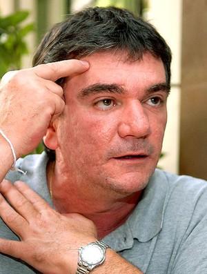 Andres Sanches durante entrevista (Foto: Alexandre Durão / GLOBOESPORTE.COM)