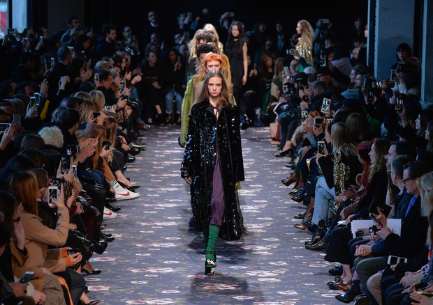 Rochas, inverno 2017 (Foto: Getty Images)