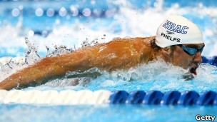 Phelps (Foto: BBC/Getty Images)