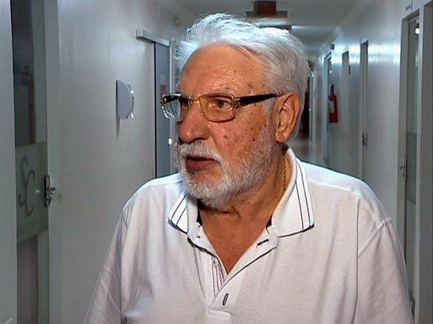 Antonio José Aldrighi dos Santos foi afastado pela Justiça da Santa Casa de Venceslau (Foto: Reprodução/TV Fronteira)
