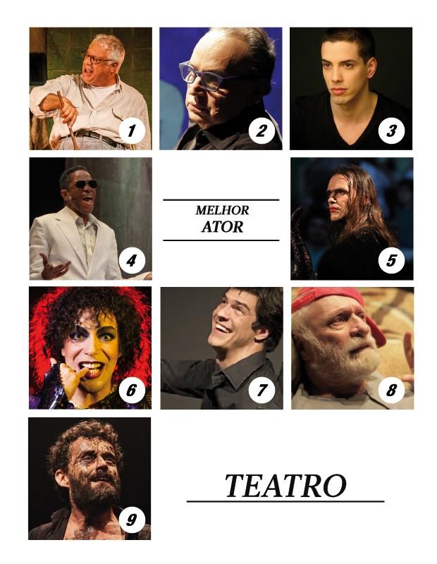Melhor ator de teatro (Foto: .)