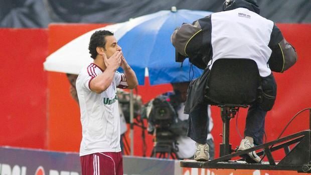 Fred gol Fluminense (Foto: Alexandre Euller / Photocâmera)