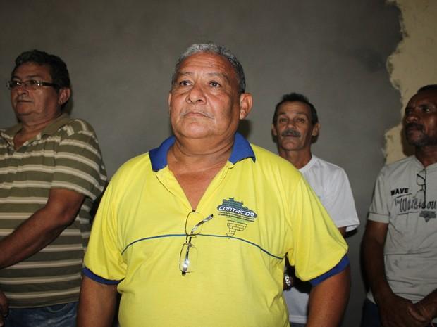 Antonio Rodrigues da Silva, presidente do do Sitricom  (Foto: Ellyo Teixeira/G1)