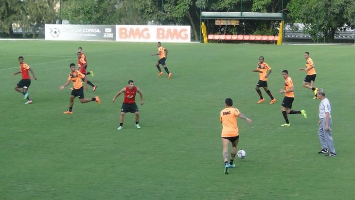 treino Atlético-MG (Foto: Fernando Martins)