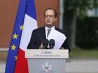 Hollande promete desmantelar acampamento de migrantes de Calais