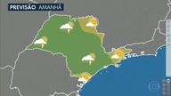 Confira a previsão do tempo para a terça-feira (26) em São Paulo
