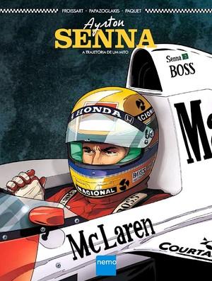 Capa livro Ayrton Senna