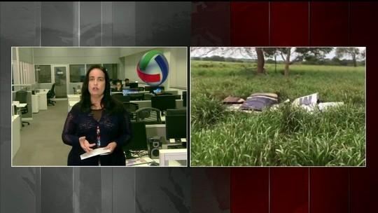 Avião cai e mata dois na região norte de MS