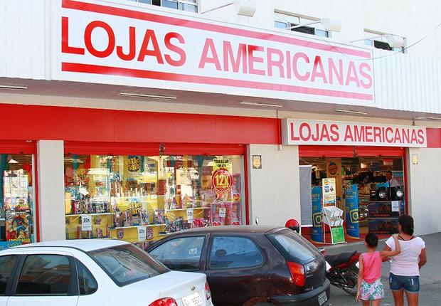 Unidade das Lojas Americanas no interior de São Paulo (Foto: Reprodução/Facebook)