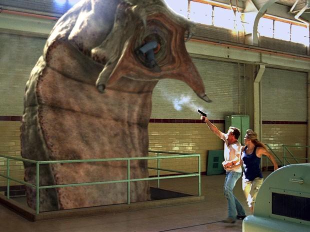 Cena de 'O retorno dos vermes malditos' (Foto: Divulgação)