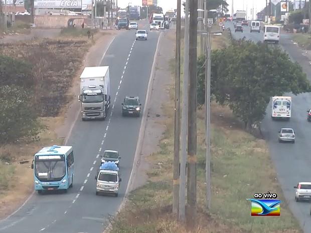 Volta para casa é de tranquilidade em rodovias do Maranhão (Foto: Reprodução / TV Mirante)