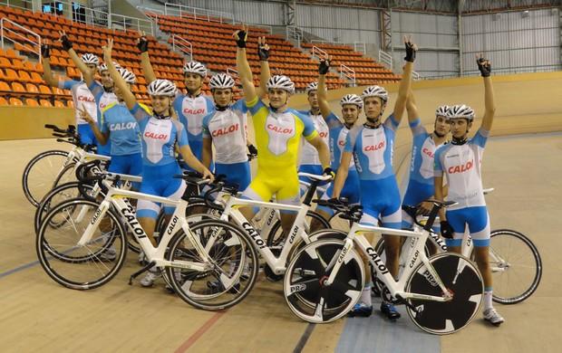 equipe ciclismo (Foto: Rodrigo Cunha/Globoesporte.com)