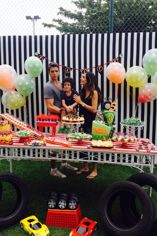 Festa do filho de Marcio Garcia (Foto:  Divulgação/Bianca Gens)