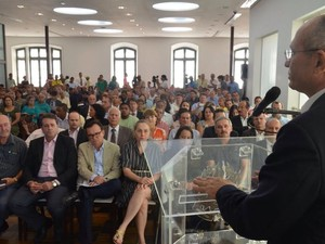 Paulo Hartung faz reunião para discutir estiagem no Espírito Santo (Foto: Fred Loureiro/ Secom)