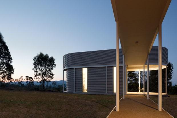 Casa é dividida por funções na Austrália (Foto:  Tom Ferguson/Divulgação)