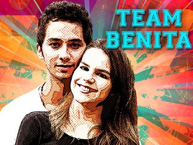 Benita ganhou a disputa! (Foto: TV Globo / Malhação)
