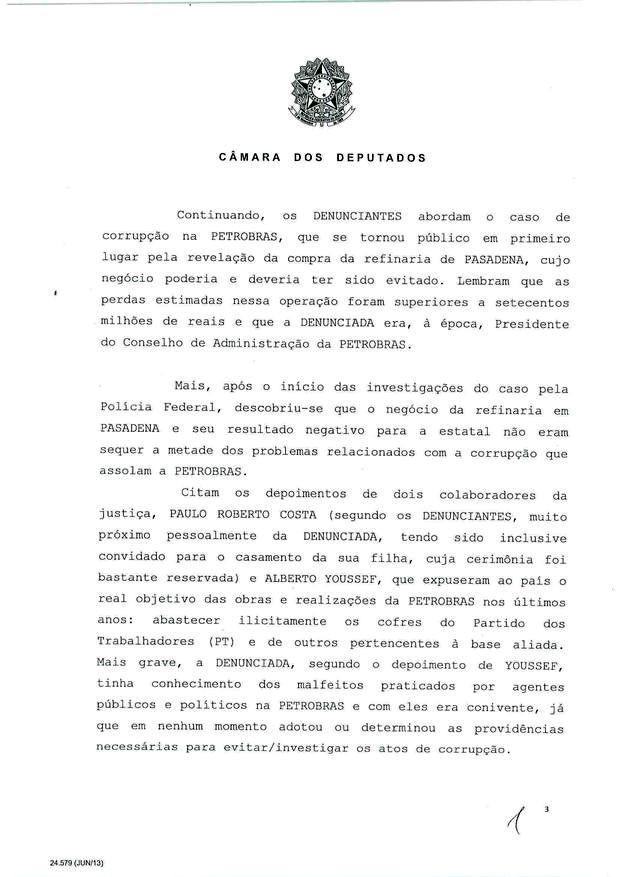 3 - Leia íntegra da decisão de Cunha que abriu processo de impeachment (Foto: Reprodução)