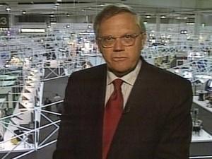 Joelmir Beting. (Foto: Reprodução / TV Globo)