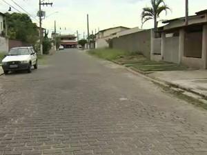 Mulher fica ferida após assalto no bairro Vila Novaes em Cruzeiro, SP (Foto: Reprodução/ TV Vanguarda)