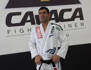 Rodrigo Cavaca é tetracampeão mundial de jiu-jitsu e treina importantes lutadores de MMA (Foto: Natasha Guerrize)