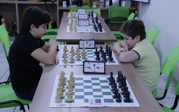 Lucas e Samuel irão disputar pela categoria Chess Máster (Foto: Pedro Samora / Globoesporte.com)