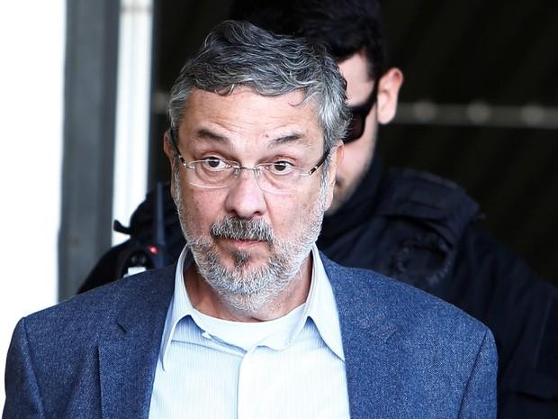 O ex-ministro da Fazenda Antonio Palocci está preso desde setembro do ano passado