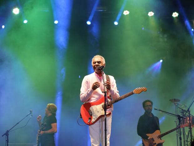 Gilberto Gil no Festival de Inverno Bahia 2014 (Foto: Laécio Lacerda/ divulgação)