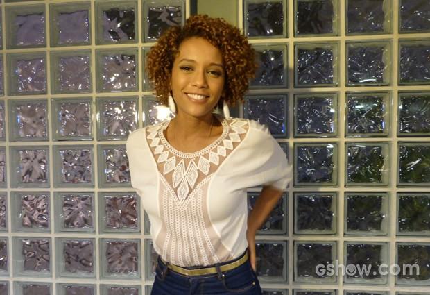 Taís Araújo diz não ter sofrido tanto preconceito em sua carreira (Foto: TV Globo / Na Moral)