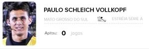 Info árbitros - Paulo Schleich Vollkopf (Foto: Editoria de Arte)