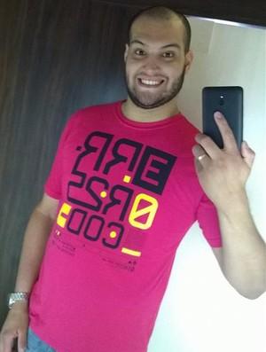 Pedro Gomes, de 24 anos, eliminou 32 kg (Foto: Pedro Gomes / Arquivo Pessoal)