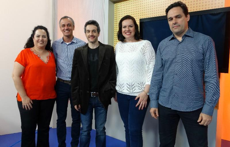 Jurados do Prêmio TV Tribuna de Publicidade (Foto: Fernanda Maciel)