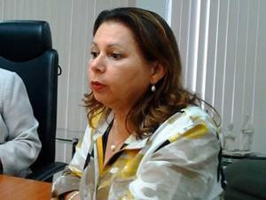 Secretária de Educação cita problemas na educação do RN (Foto: Jefferson Hallyday/G1)