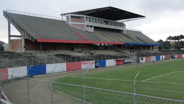 Estádio Vila Olímpica Boqueirão (Foto: Fernando Martins)