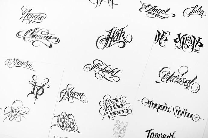 Desenhos tatuagem Ibra (Foto: Divulgação)