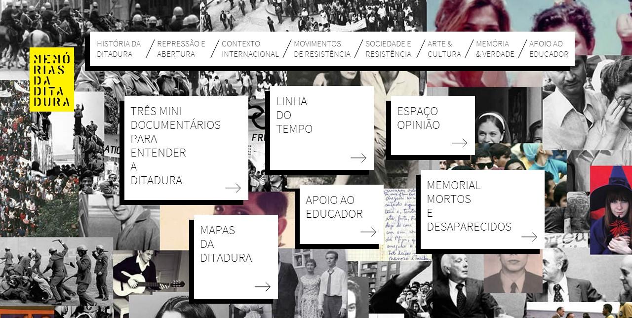 Site conta com documentários e conteúdo multimídia interativo (Foto: Reprodução)