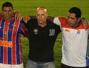 Paulo Morgado temeu não passar pelo Rio Negro (Foto: Anderson Silva/Globoesporte.com)