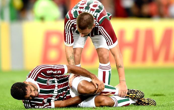 Gum, Fluminense e Coritiba (Foto: Getty Images)